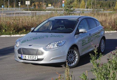 MENER ALVOR: Ford melder seg på for fullt i det særnorske elbil-markedet med en forbedret utgave av Focus Electric.FOTO: ØYVIN SØRAA