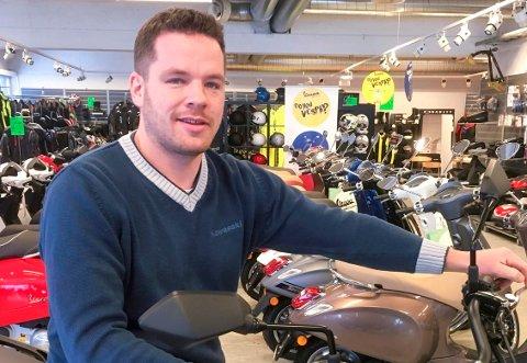 - Mange tenker ikke på konsekvensene, og netthandler ATV som leketøy til ungene sine, sier motorsykkelforhandler Per Harald Øyhus i Gjøvik.