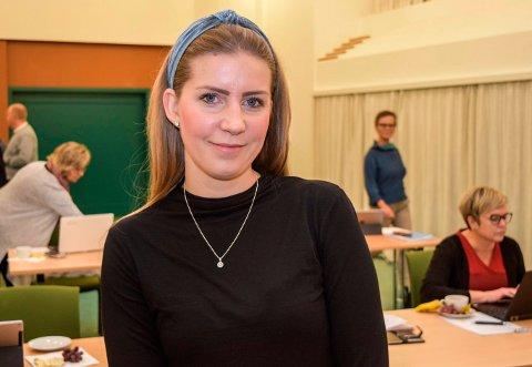 KOMMUNIKASJONSRÅDGIVER: Lotte Kildeborg er nyansatt kommunikasjonsrådgiver i Gjøvikregionen.