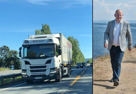 KAMP: – For Riksveg 4 ser det bra ut, men jeg vil advare mot å tro at kampen for en helhetlig og sammenhengende utbygging er vunnet, sier Gjøvik-ordfører Torvild Sveen.