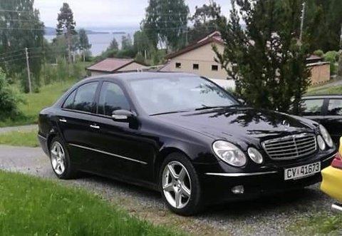 STJÅLET: Dette bildet viser bilen som natt til tirsdag ble stjålet på Kapp.