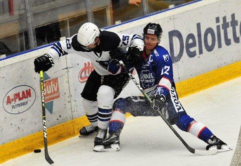 NESESTYVER: Amund Kjeverud Nyland scoret og spilte en god kamp mot Nidaros, men lørdagens seier mot Tønsberg var Gjøvik Hockeys trøst denne helgen.