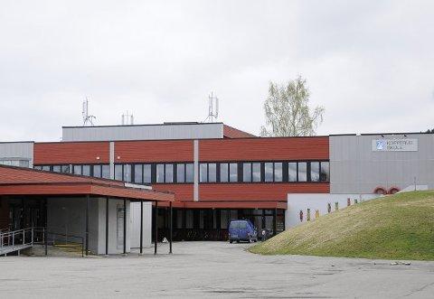 RAMMET: Kopperud skole er igjen rammet av korona og 46 personer er satt i karantene.