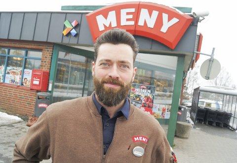 KAMPKLAR: Butikksjef og kjøpmann, Per-Johan Aalerud, er klar for å ta Meny Bjoner tilbake til gamle høyder.