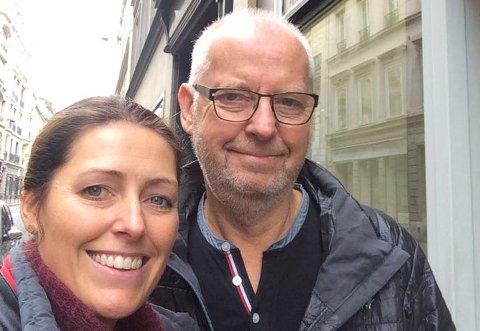 Christina Werner Wallin og faren, Leif Werner, var tett opp til terroraksjonene i Paris i natt