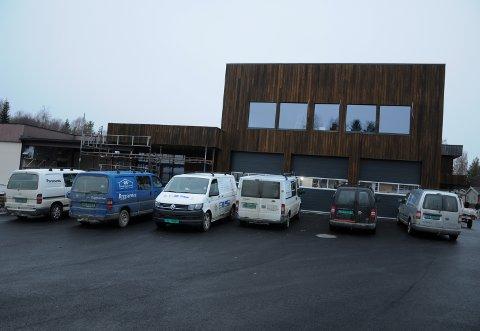 NYTT LENSMANNSKONTOR: De nye lokalene til Koppang lensmannskontor i Koppangsenteret blir på cirka 500 kvadratmeter fordelt over to plan.