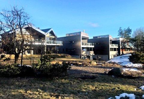 Det er innsyn fra de nye boligene og friarealet foran som Ellen Pedersen ønsker å skjerme seg mot ved å bygge et gjerde.