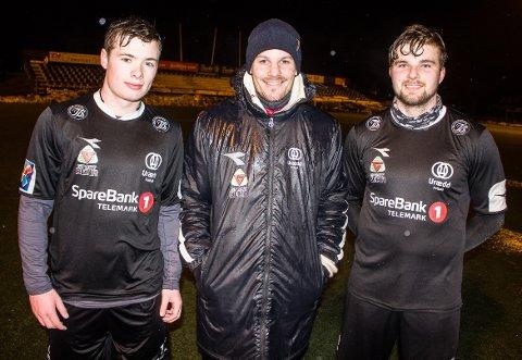Christian Lindahl Elseth, Anders Haugseth og Håvard Halvorsen, Urædd
