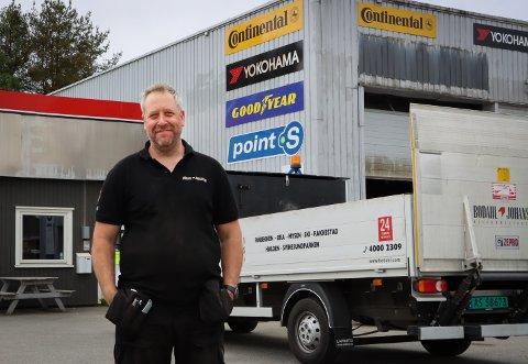 FÅR ROS: Odd Harald Schmutz er daglig leder hos Bodahl-Johansen. Her har han hatt mange flinke elever i praksis.
