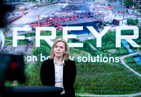 - Først på slutten av 2025 vil vi være oppe i maksimalt 1.500 ansatte i Rana, sier konserndirektør Tove Nilsen Ljungquist for drift i Freyr AS.
