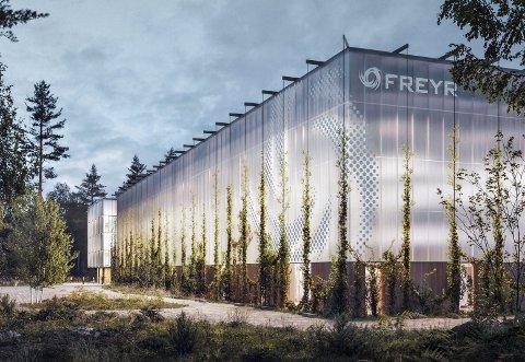 Høyre vil satse på en ny utbygging av industri i Norge. De vil gjøre statlig behandling lettere. Dette kan bety mye for etableringen til Freyr Battery i Mo i Rana.