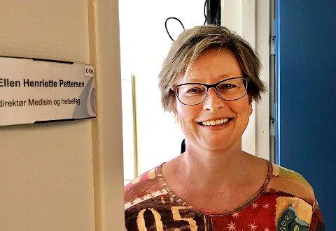 HAR TILBUDT PLASSER: Direktør for medisin og helsefag i Sykehuset Innlandet, Ellen Henriette Pettersen, opplyser at de har tilbudt pasienter fra osloregionen sjukehusplass i Innlandet. Hvor mange de eventuelt har tatt imot, vil hun ikke si noe om.