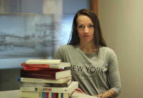 Kristina Borgen (25) tok en pause fra skolen, og valgte å droppe ut av videregående i begynnelsen av VG1.