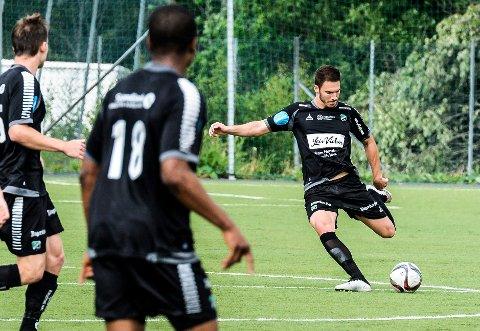 KAN FORSVINNE: Benjamin Omerovic kan være på vei bort. HBK-stopperen vurderer et kontraktstilbud fra 1. divisjonsklubben Fredrikstad.