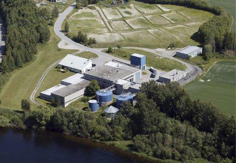 STØRST: Monserud er det største renseanlegget i Ringerike, men snart er det også for lite.FOTO: FRODE JOHANSEN