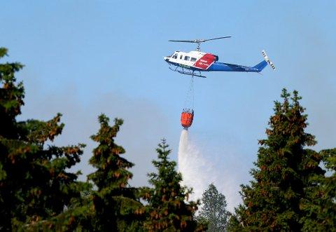 Regjeringen styrke brannberedskapen. Foto: Terje Pedersen / NTB scanpix