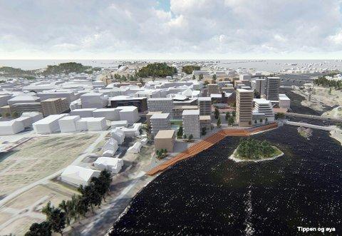 FRAMTIDEN: Både Hønefoss og regionen trenger en oppdatert byplan, skriver redaktør Bjørn Harald Blaker i Ringerikes Blad.