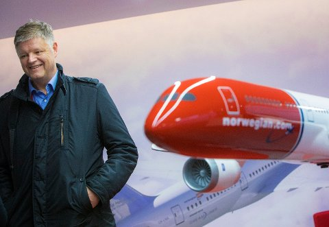 TUNG START: Norwegians nye toppsjef Jacob Schram har fått en tung børsstart med en halvering av aksjekursen i løpet av kort tid. Foto: Ole Berg-rusten (NTB scanpix)