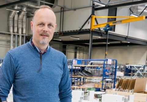 SLUTTER: Stein Steinsvik slutter etter sju år i Eggemoen-bedriften, de siste to som daglig leder.