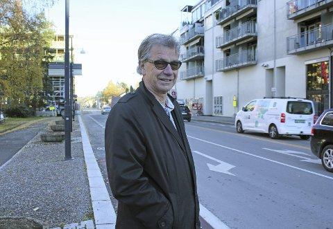 Kritisk: Tore Berg i Folkets Røst er enig med kritikken arkitekt Ulf Grønvold retter mot Lillestrøm.Foto: Elin Svendsen