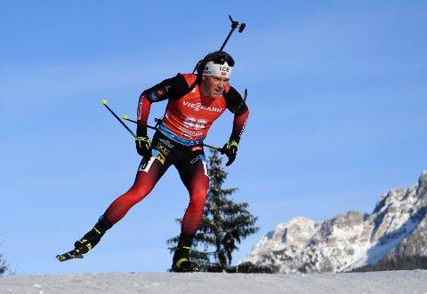 Johannes Dale ble tredjemann lørdag. Foto: Andreas Schaad / AP / NTB