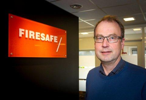 VAR UVITENDE: – Med en gang vi fikk vite om dette, tok vi selvsagt affære, sier administrerende direktør Morten Ameln i Firesafe.