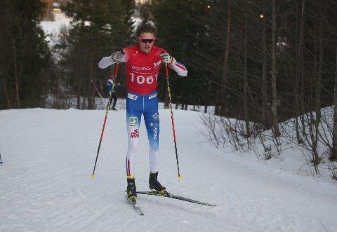 GOD: Amund Korsæth fra Trøsken IL gikk gode renn i junior-NM i langrenn.