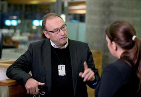 Informasjonssjef Knut Morten Johansen i SAS.