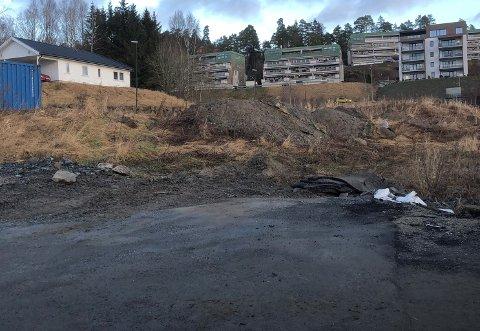 Det er dette tomteområdet i Mysen som omfattes av konkursen.