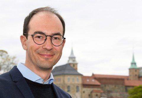 BYTTER BEITE: Stian Eisenträger (35) fra Askim slutter etter 13 år i VG for å ta over som ansvarlig redaktør i fagbladet Forsvarets Forum.