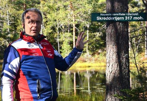 Nærmere grasrota:  Ordfører Saxe Frøshaug vil møte folket ute på de ulike tettstedene.