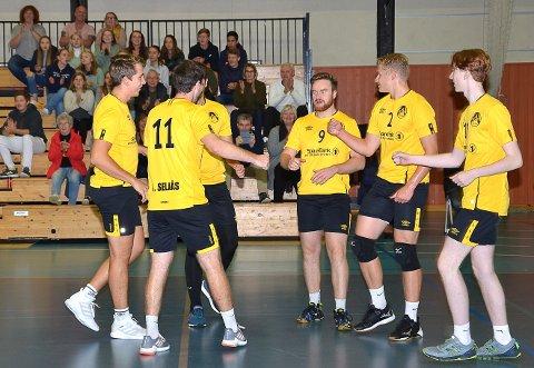 AVSLUTTET: 1. divisjon i volleyball er bestemt avsluttet. For Askim-herrene sin del betyr det da at de kan søke om opprykk til eliteserien.