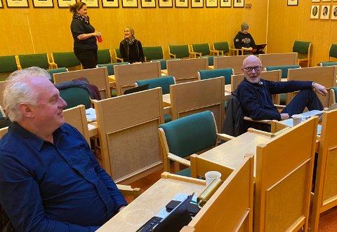 USEMJE: Jan Olav Fretland, SV, støtta rådmannen sitt framlegg om innføring av eigedomsskatt. Det gjorde ikkje Jan Geir Solheim, Sp. Han fekk med seg fleirtalet i formannskapet for sitt syn.