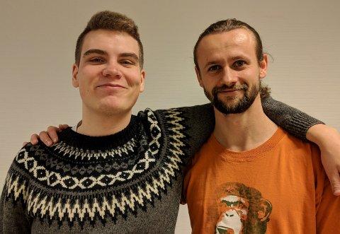 MIKROHUS: Placåbo SB frå Høgskulen på Vestlandet vart kåra til beste studentbedrift.
