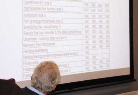 NYE FORSLAG: Rådmannen måtte innse at flere av kuttene som han hadde foreslått, for å dekke inn en underbalanse på 32 millioner kroner, ble avvist i politikernes budsjettforslag.