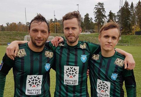 Daniel Ciach, Stian Nag og Erik Steinsland sørgde for Staal-siger i Tønsberg laurdag.