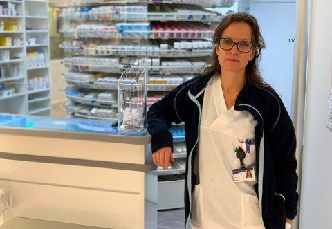 STORT ANSVAR: Sylvi Cathrine Debes og hennes kolleger har fått en stor og viktig jobb.