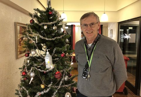 TESTE: Kommuneoverlege Bjørn Buan i Surnadal sier det er viktig å teste seg i jula, dersom man utvikler symptomer eller har mistanke om at man er smittet. Koronatest kan bestilles via c19.no