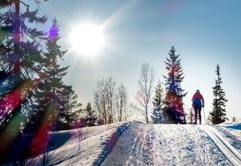 Illustrasjonsbilde: Det blir kanskje ikke det ideelle påskeværet for gode skiforhold, men det kan allikevel bli ålreit påskevær på Nordmøre.