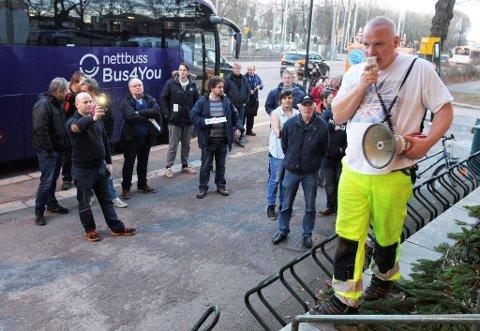 IHERDIG BOMMOTSTANDER: Johan Morten Nome fra Eik skal danne lokallag av Folkeaksjonen nei til mer bompenger (FNB) i Tønsberg og er i ferd med å samle navn på en liste til kommunevalget i 2019. Nome vil selv stå på toppen av lista.