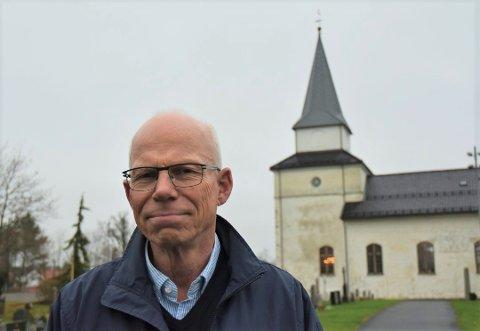 POPULÆRT: De tre gudstjenestene på julaften i Nøtterøy kirke ble «utsolgt» på rekordtid, forteller koordinerende sokneprest Tom Olaf Josephsen.