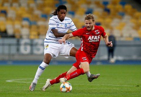 Fredrik Midtsjø og AZ er ute av mesterligakvalifiseringen.