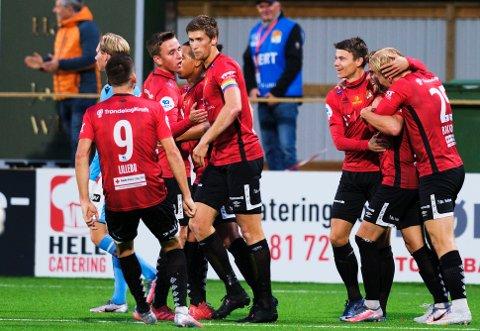 SEIER: Blink tok sesongens første borteseier da Strømmen ble slått 2-1 mandag kveld.