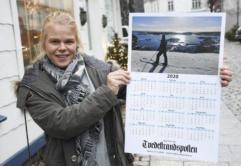 Kalenderbilde: Gro Anette Marcussens bilde ble valgt ut som Tvedestrandspostens kalenderbilde for 2020. Fotografen ble belønnet med et gavekort på 1500 kroner. Foto: Øystein K. Darbo