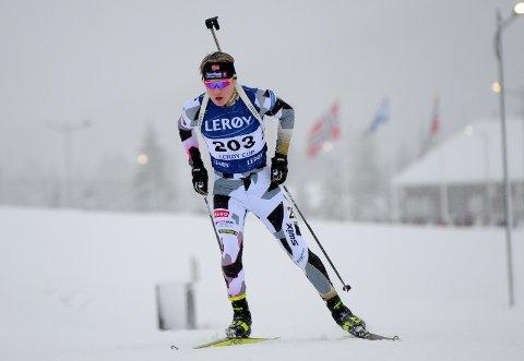 Prikkfritt: Sigurd Øygard gikk søndag et prikkfritt renn, og med en seiersmargin på drøye ett minutt var han totalt overlegen på Lygna.