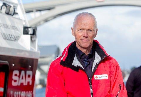 TAKKER: Robert Mood, president i Røde Kors, takker alle som støtter Røde Kors via Pantelotteriet.