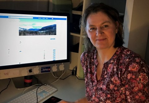 VELVILJE: Sonja Bordewich opprettet Facebook-siden Vi i Sør-Aurdal hjelper hverandre, og forteller mange ønsker å bidra.