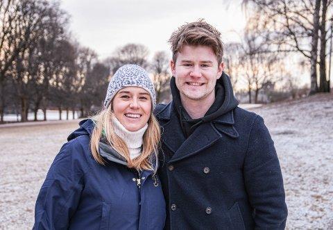 Valdreskjære: Josephine Leine Granlie og Nicolay Ramm drar stort sett til Valdres i alle høytider, både jul og påske. Med fødselsdager henholdsvis første juledag og lille julaften, blir det også gjerne bursdagsfeiring i området.