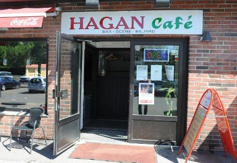 BORTVIST IGJEN: Politiet måtte natt til søndag reise til Hagan Cafe og Bar da det ble meldt om bråk mellom en gjest og vakter på stedet. Ingen av de involverte har anmeldt forholdet..