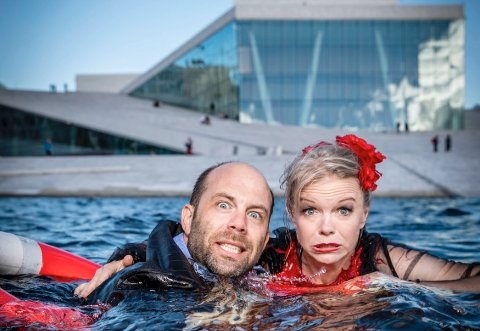 RETT FRA OPERAEN: Eir Inderhaug og Jan Gunnar Sørbø ser fram til å møte nittedalspublikummet for første gang.
